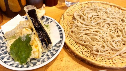 手打蕎麦ちりんのランチがコスパ良い!揚げたての天ぷらが楽しめる「天せいろ」が最高!