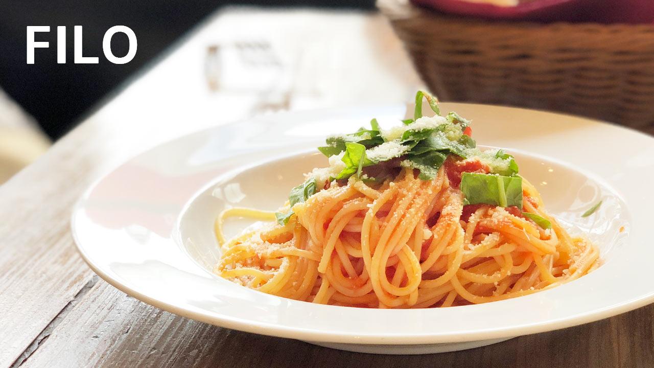 パルム商店街の端にある「FILO(フィーロ)」の本格イタリアンなランチセットが最高!