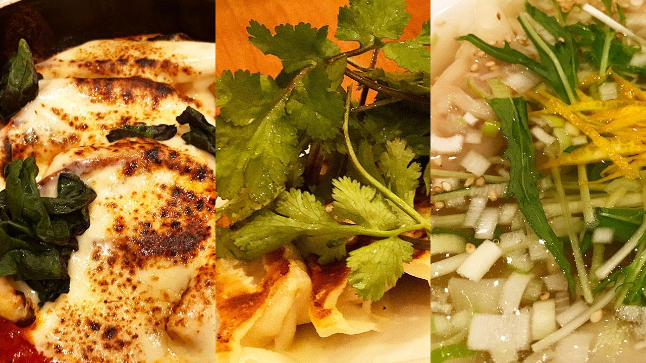 肉汁餃子ふく肉では焼き餃子以外にも変わり種の餃子もおいしい!