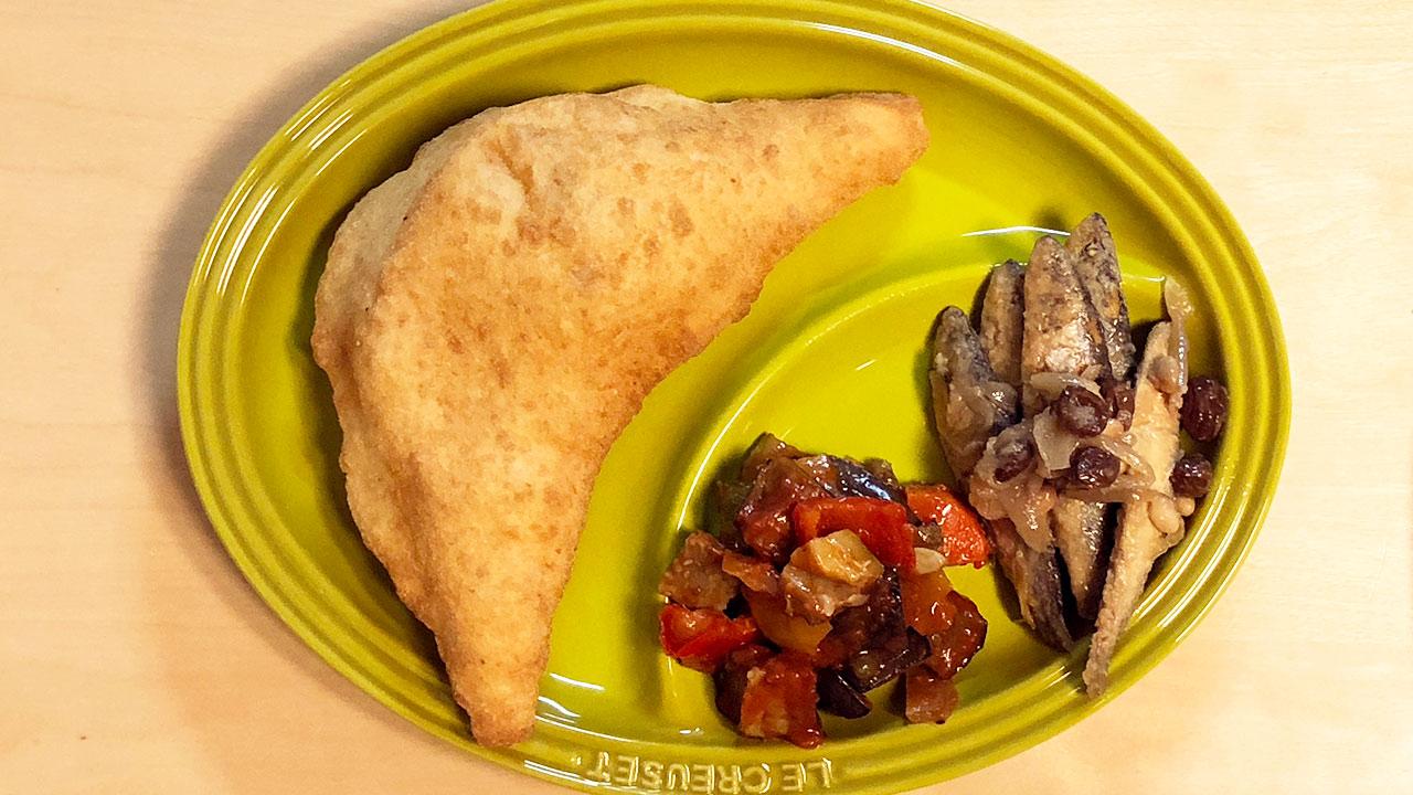 「Palermo PLUS(パレルモプラス)」のピッツァフリッタと惣菜をテイクアウトしてみた