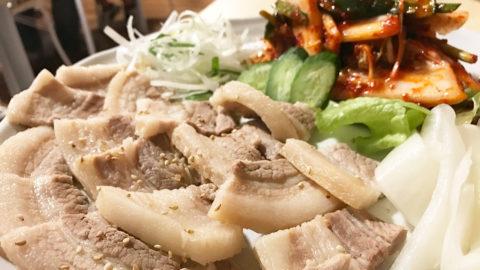 韓国料理店「釜山広場」で食べたポッサムがうまかった!