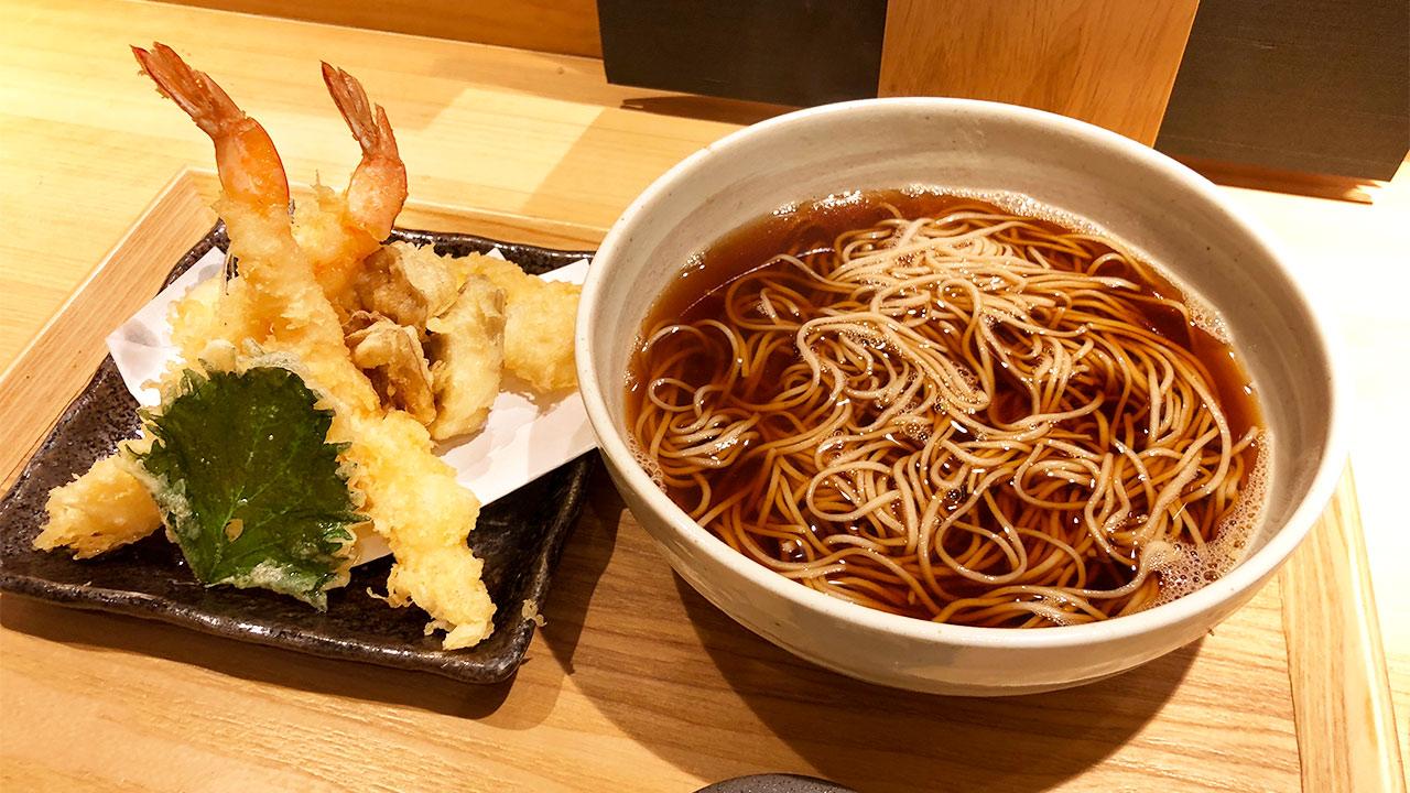 天ぷらそば「唐さわ」がコスパすごい!揚げたて天ぷらとそばを安価に楽しむならここ!
