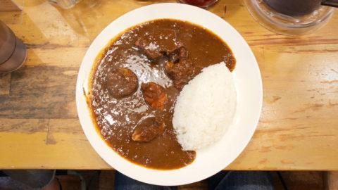 不動前「東印度カレー商会」のインドカレーと欧風カレーの良いとこ取りな味が最高!