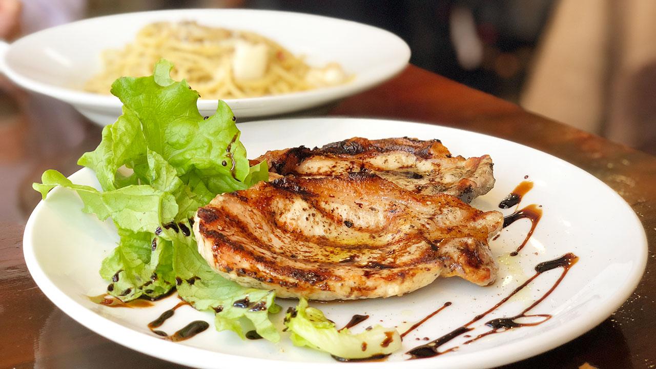 レオンビアンコのランチビュッフェがコスパ良すぎるし肉もパスタもうますぎる