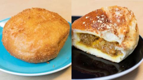 こみねベーカリーのカレーパンと激辛カレーパン食べ比べ!