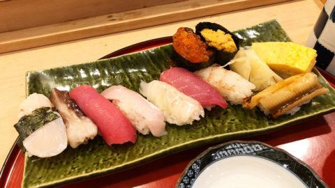 「磯はな」のランチ寿司は全品半額!お値打ち価格で寿司がいただける最高のお店!