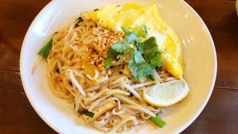 エキゾチックカフェCBCならタイ料理初心者でも楽しめる!薄味に仕上げたパッタイがうまかった!