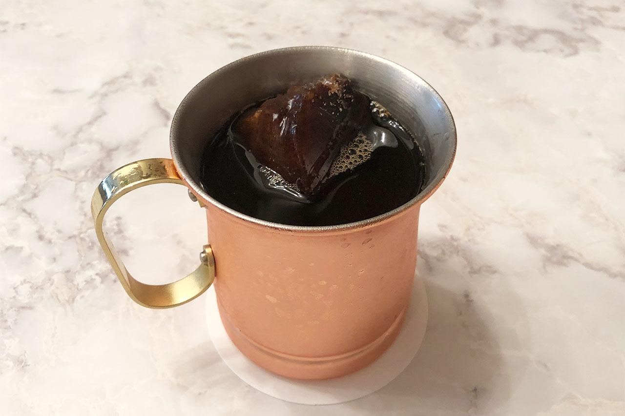 昭和ロマンス名物のアイスコーヒー