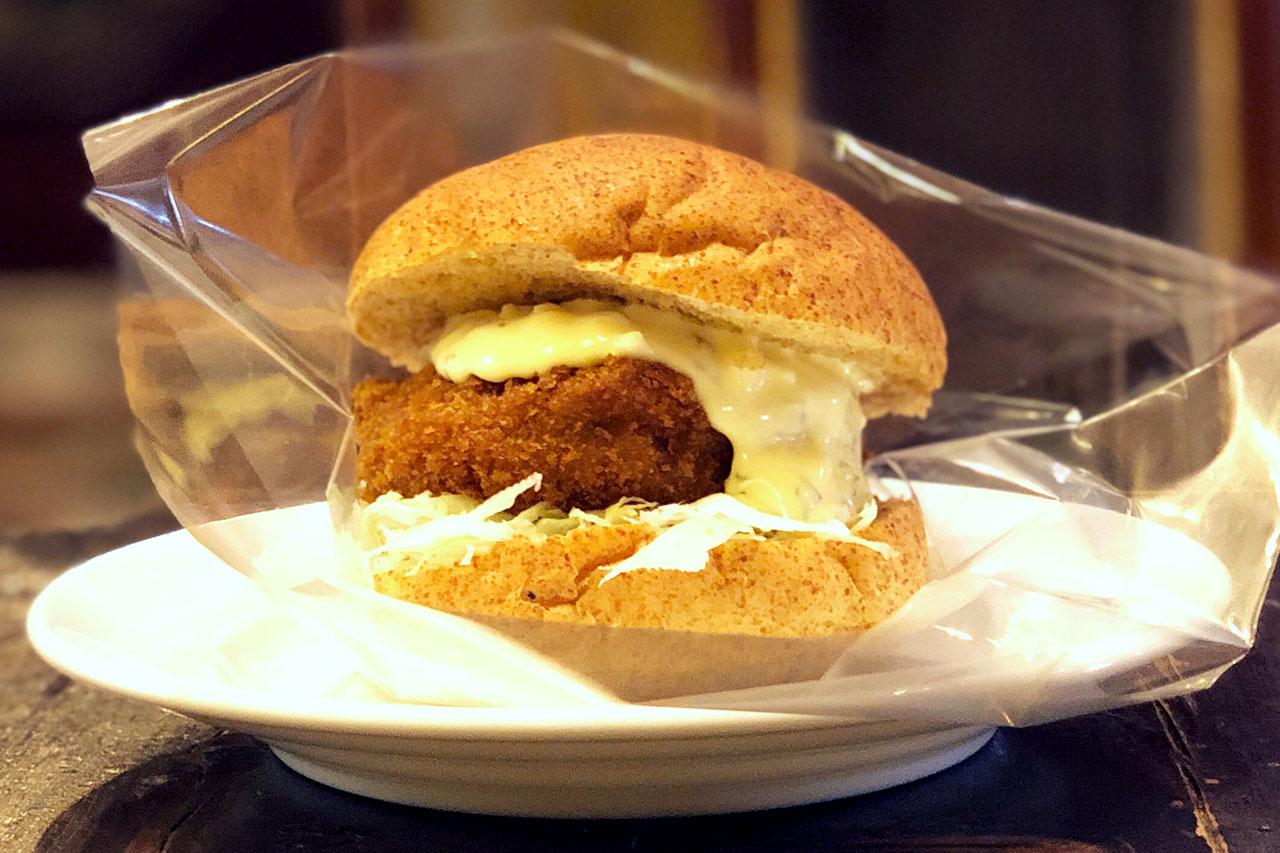 武蔵小山で一番おしゃれなパン屋「nemo(ネモ)」の黒毛和牛メンチカツバーガーが美味しかった