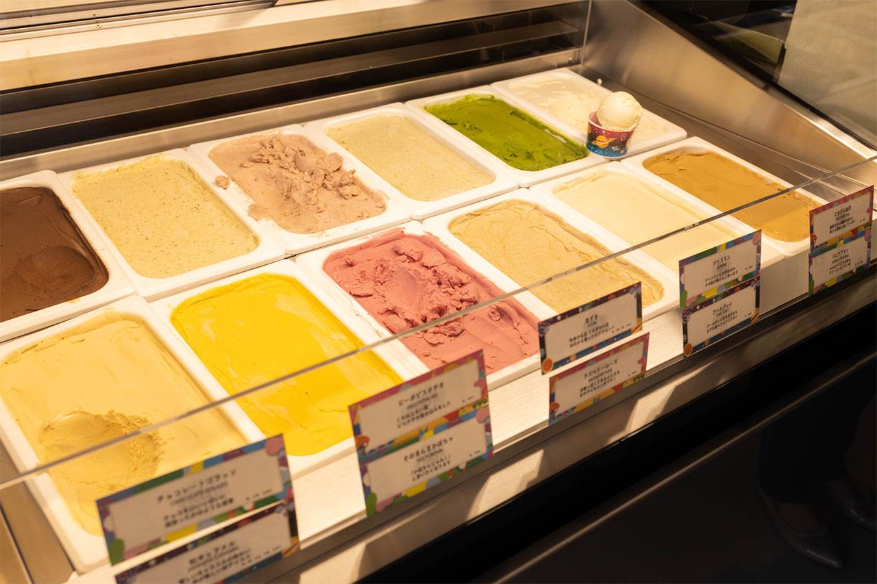 猿田彦珈琲武蔵小山店のアイスクリーム